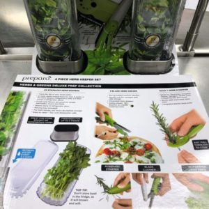 Prepara Herb Keeper Set - Premade Meal Delivery Services