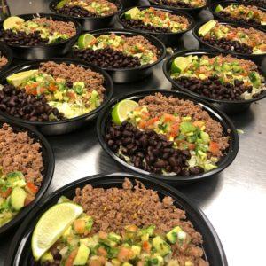 taco bowl salad - food 4 fuel