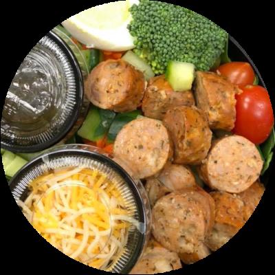 Chicken Sausage Salad (5)