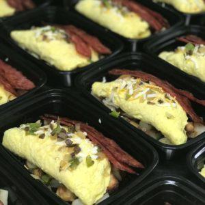 omelet meal - food4fuel rockford