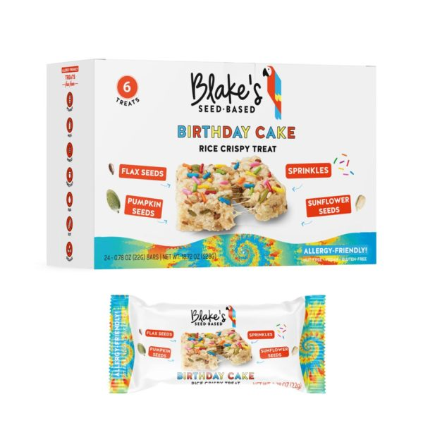 blakes snack bars - birthday cake