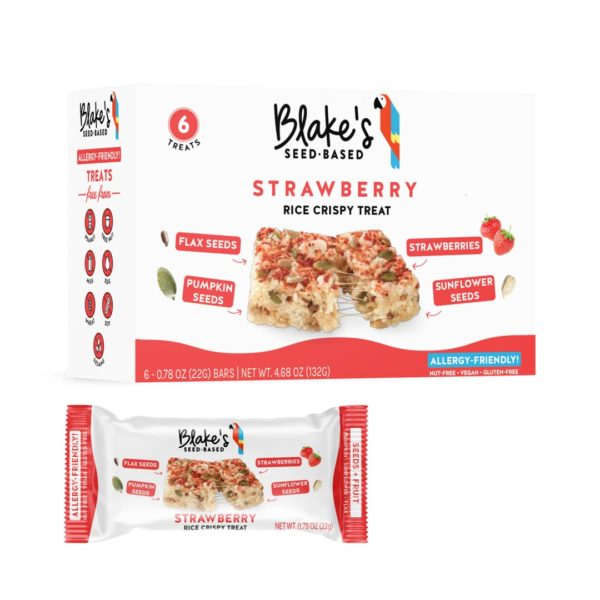blakes snack bars strawberry